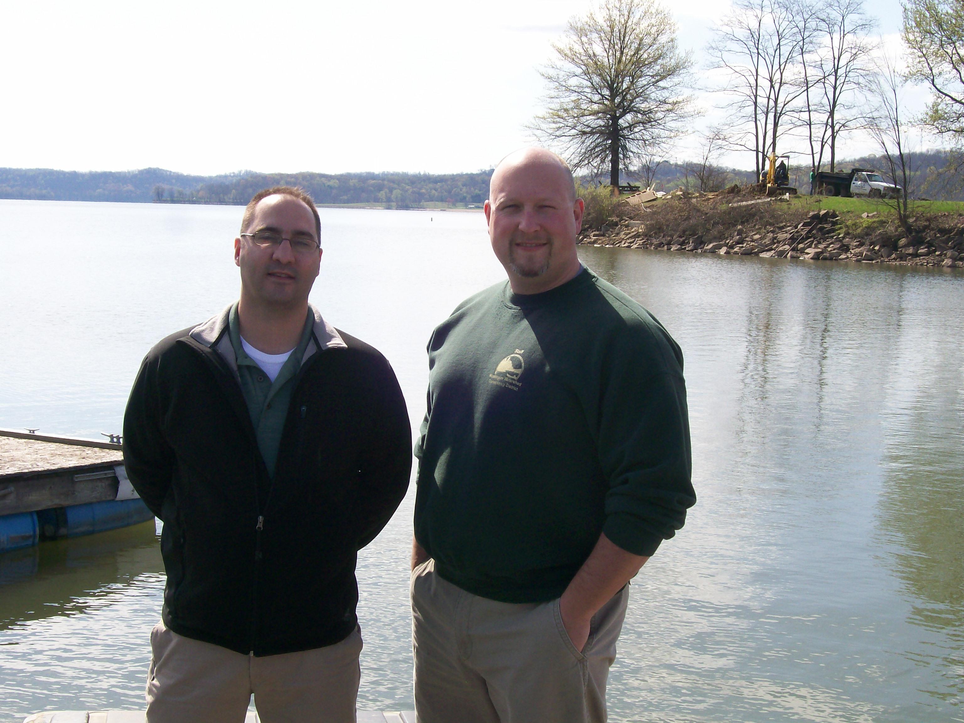 Makeover to begin at seneca marina muskingum watershed for Seneca lake fishing report