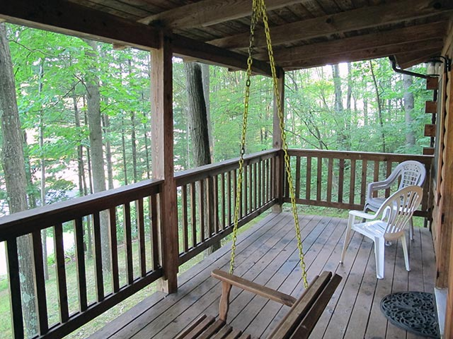 Cabin amenities for piedmont marina campground for Seneca lake ohio cabins