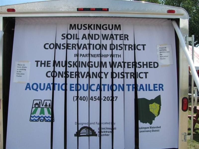 Aquatic Education Trailer 2011 PWM grant