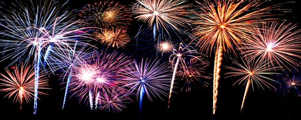 Fireworks Schedules at MWCD Parks