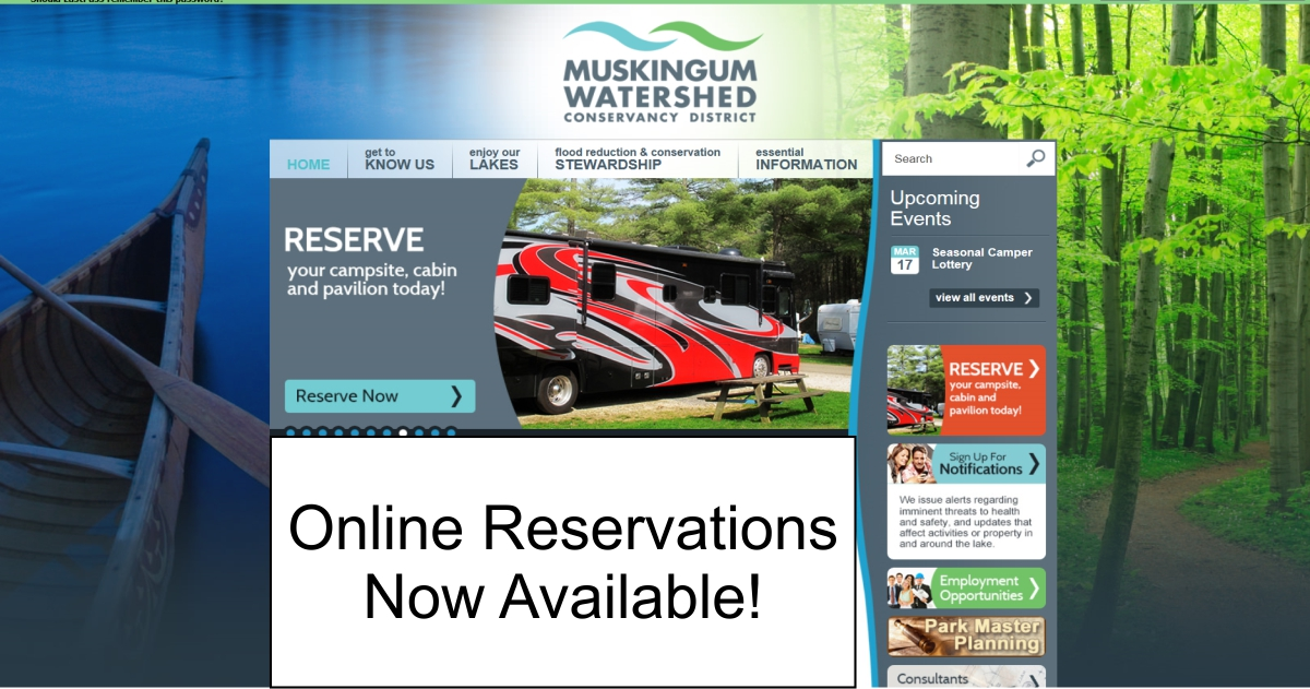 New Online Reservation System Now Available