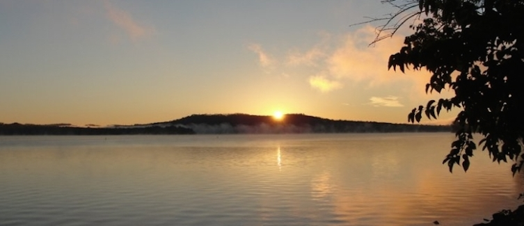 Sunrise+on+Seneca+Lake