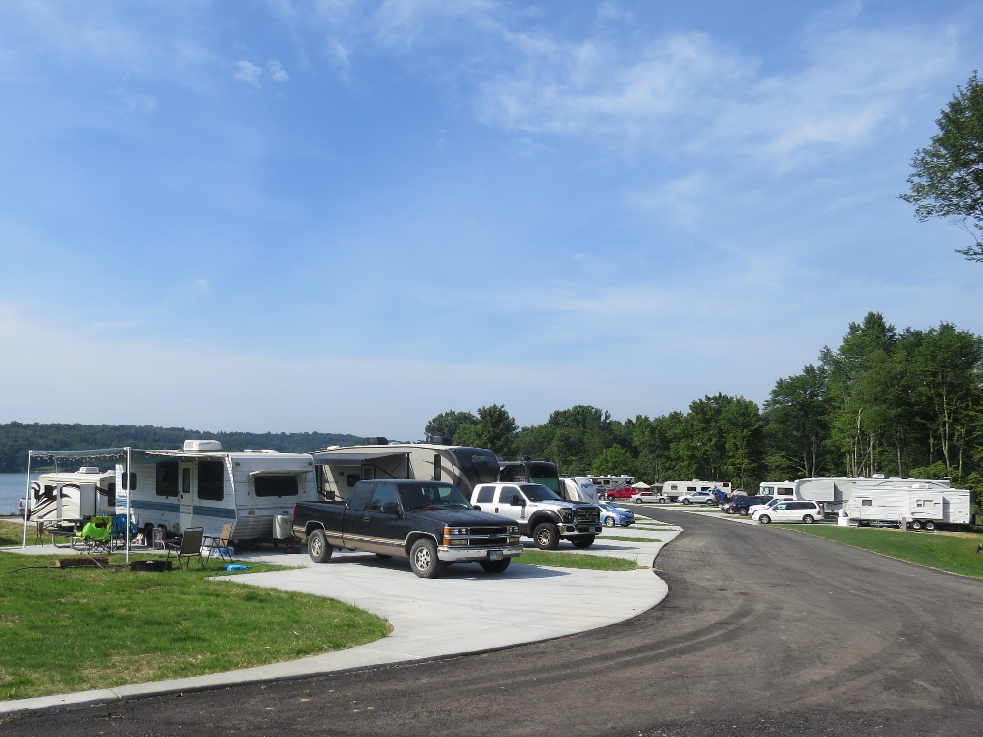 new atwood campsites are available for use during alive