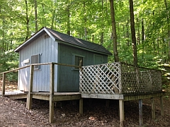 Patio cabins and camper cabins owa mwcd for Seneca lake ny cabins